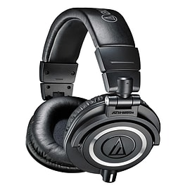 Audio Technica ATH-M50x Closed Back Headphones Instruments