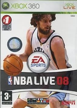 NBA Live 08 [Spanish Import] XBOX360