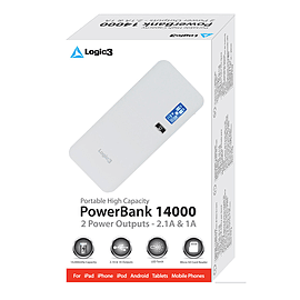 Logic3 PowerBank 14000 Mobile phones