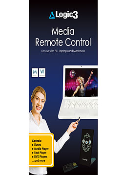 Logic3 Wireless Media Remote Control PC