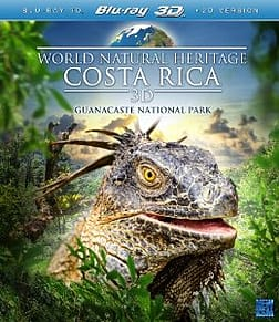 World Natural Heritage - Costa Rica 3D Blu-ray