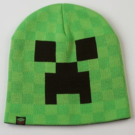 Minecraft Creeper Face Beanie Clothing
