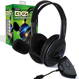 Gamekraft GX21 Chat Headset - Xbox 360 XBOX360