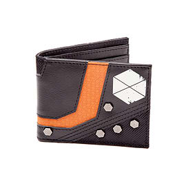 Destiny Titan Mix Material Bi-Fold Wallet Clothing