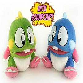 Bubble Bobble Plush Soft Toys