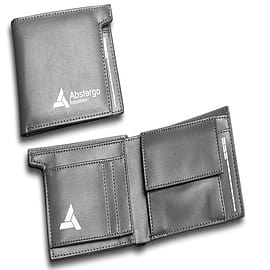 Assassins Creed Leather Abstergo Industries Wallet Clothing