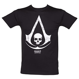 Assassins Creed Black Flag Logo T-Shirt - Size XX-Large Clothing