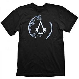 Assassins Creed Animus Crest T-Shirt - Size Medium Clothing