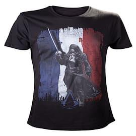 Assassins Creed Unity Tricolore T-Shirt - Size Medium Clothing