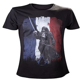 Assassins Creed Unity Tricolore T-Shirt - Size X-Large Clothing