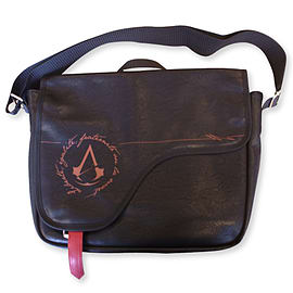 Assassins Creed Unity Brown Messenger Bag Clothing