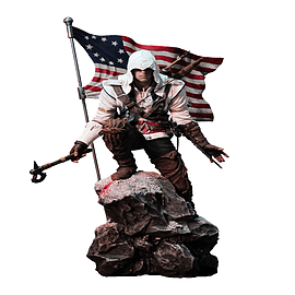 Assassins Creed Conor Rise Statue Figurines and Sets