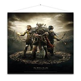 The Elder Scrolls Online Legends Wall Scroll Posters