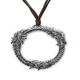 The Elder Scrolls Online Ouroboros Pendant Clothing