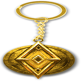 The Elder Scrolls Online Imperial Key Ring Keyrings