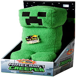 Minecraft Creeper Plush Toy with Soundchip Soft Toys