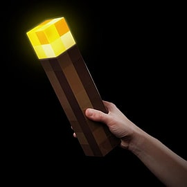 Minecraft Light-Up Torch Memorabilia