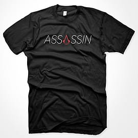Assassins Creed Assassin T-Shirt - Size Large Clothing