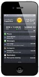 Apple Iphone 4S 16GB black sim free Phones