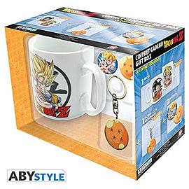DRAGON BALL Pack Mug Keychain Badges Home - Tableware