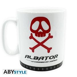 CAPTAIN HARLOCK Mug Albator Emblem Home - Tableware