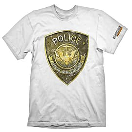 Battlefield Hardline T-Shirt Police White - XL Clothing