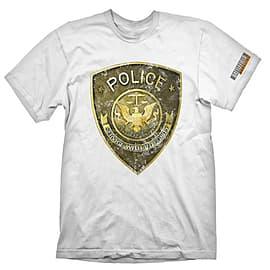 Battlefield Hardline T-Shirt Police White - XXL Clothing
