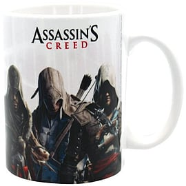 Assassins Creed 320 ml Heroes Mug, Multi-Colour Home - Tableware