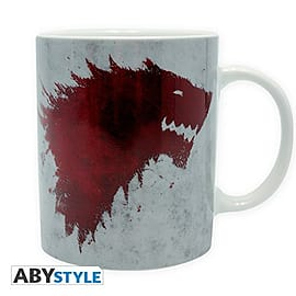 Game of Thrones 320 ml Ceramic House of Stark 'The North Remembers' Mug Home - Tableware
