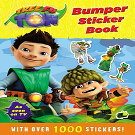 Tree Fu Tom: Bumper Sticker Book (Paperback) Books