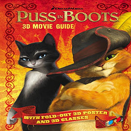 Puss in Boots: 3D Movie Guide (Paperback) Books