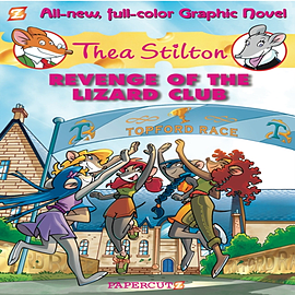 Thea Stilton # 2:Revenge of the Lizard Club (Thea Stilton Graphic Novels) (Hardcover) Books