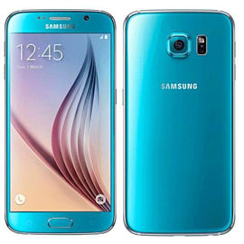Samsung Galaxy S6 32GB Blue (As New Condition) - Unlocked Phones