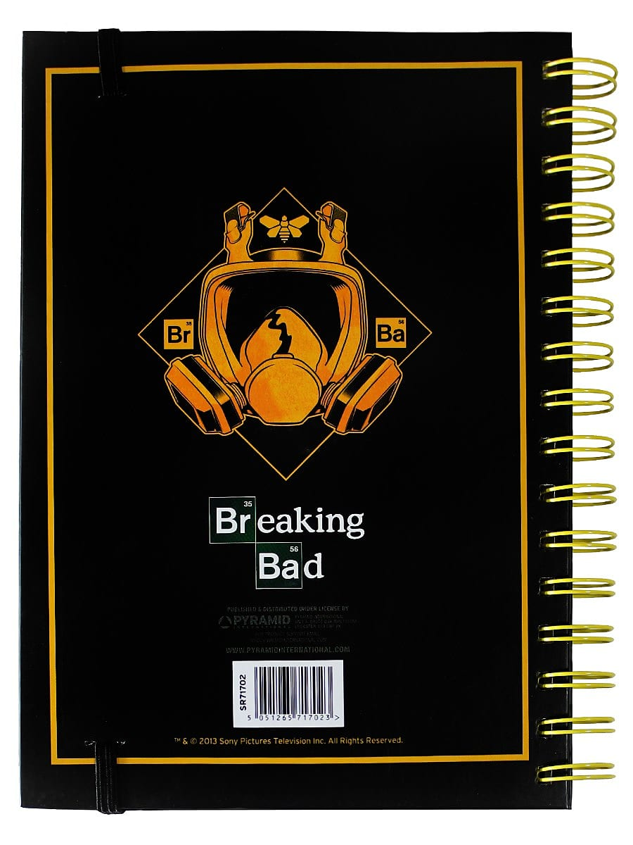 Breaking Bad I Am The One Who Knocks Black Notebook screen shot 1