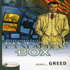 Pandora's Box Vol.4: Greed (Paperback) Books