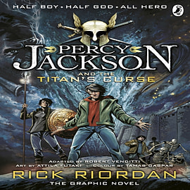 Percy Jackson and the Titan's Curse: The Graphic Novel (Percy Jackson Graphic Novel 3) (Paperback) Books