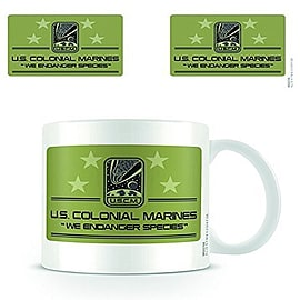 Alien USCM Ceramic Mug Home - Tableware