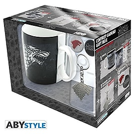 GAME OF THRONES Pack Mug + Keychain + Badges Home - Tableware