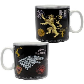 Game of Thrones 460 ml King Size Ceramic Sigils Mug Home - Tableware