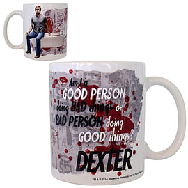 DEXTER Mug: Am I a good person Home - Tableware