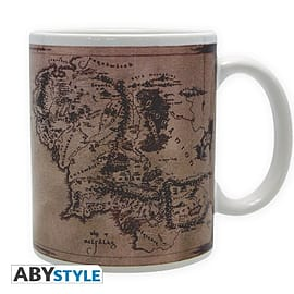 LORD OF THE RING Mug Rohan and Gondor Map Home - Tableware