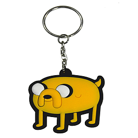 Adventure Time Jake Yellow Keyring Keyrings