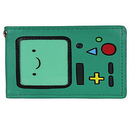 Adventure Time Beemo Bifold Green Wallet Clothing