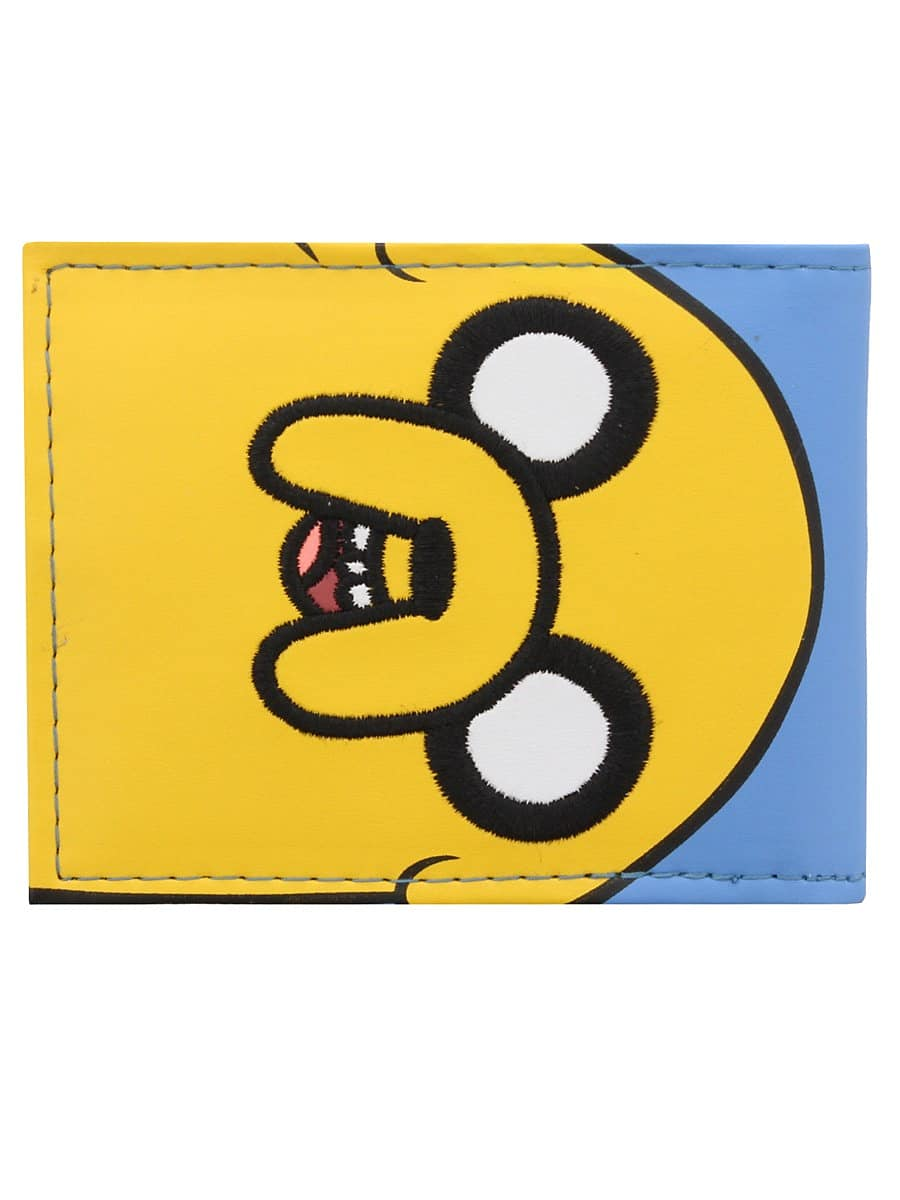 Adventure Time Jake & Finn Bi-Fold Sky Blue Wallet screen shot 1