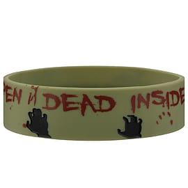 The Walking Dead Don't Open Dead Inside Wristband Clothing
