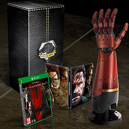 Metal Gear Solid V: The Phantom Pain Collector's Edition Xbox One Cover Art
