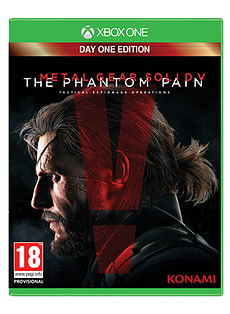 Metal Gear Solid V: The Phantom Pain Day 1 Edition Xbox One Cover Art