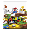 Nintendo Gloss Black Framed Super Mario 3D Land Maxi Poster 91.5x61cm Posters