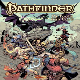 Pathfinder Volume 2: Of Tooth and Claw HC (Hardcover) Books
