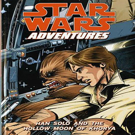 Star Wars Adventures: Han Solo and the Hollow Moon of Khorya v. 1 (Paperback) Books